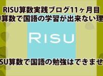 RISU算数で国語の学習はできないアイキャッチ画像